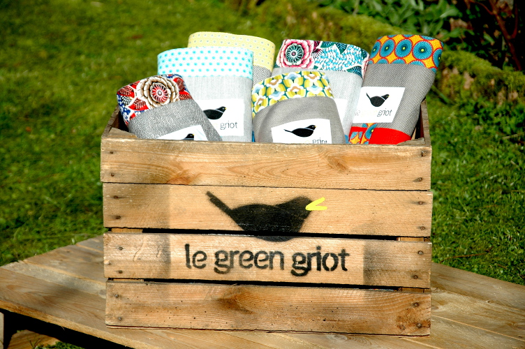 Green Griot | Nappes Piknik DUO 137*137