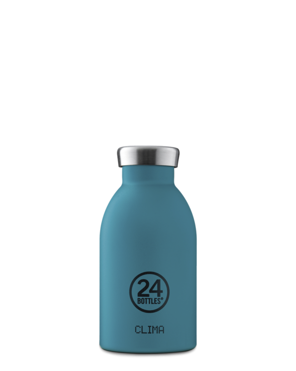 24 BOTTLES | Thermos Inox Clima Isotherme 330ml - Atlantic Bay Stone