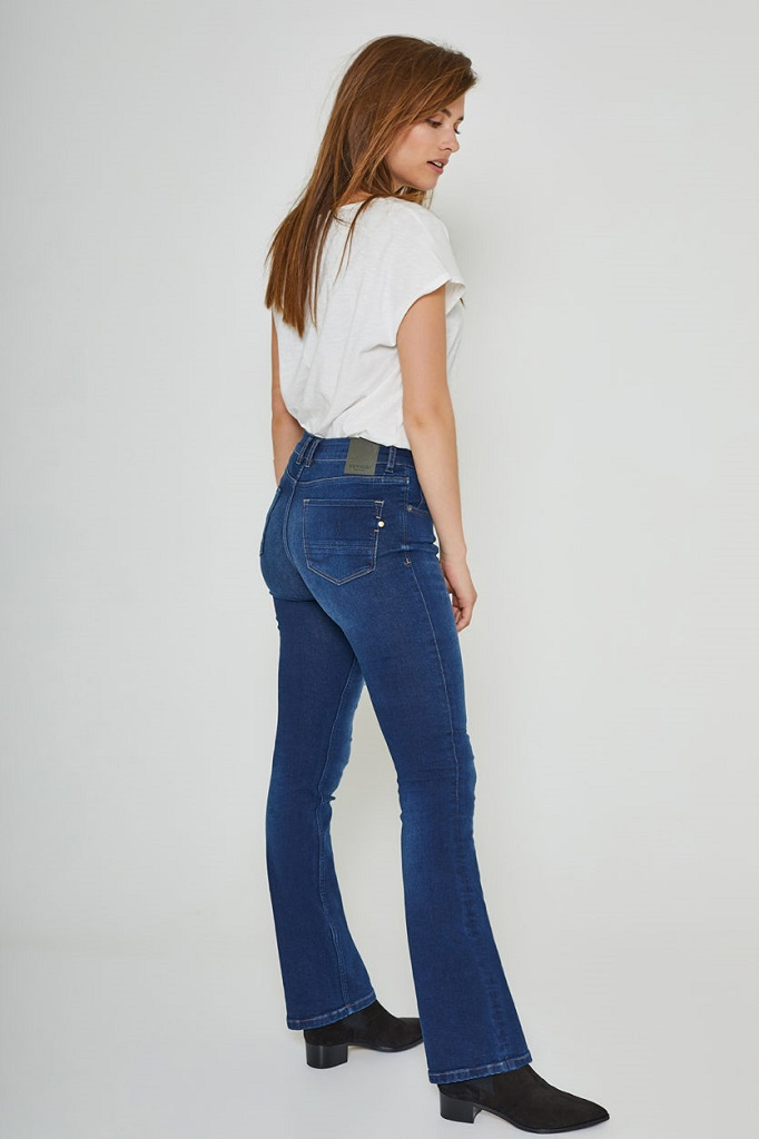 KUYICHI | Jean Bootcut - AMY Herbal Blue