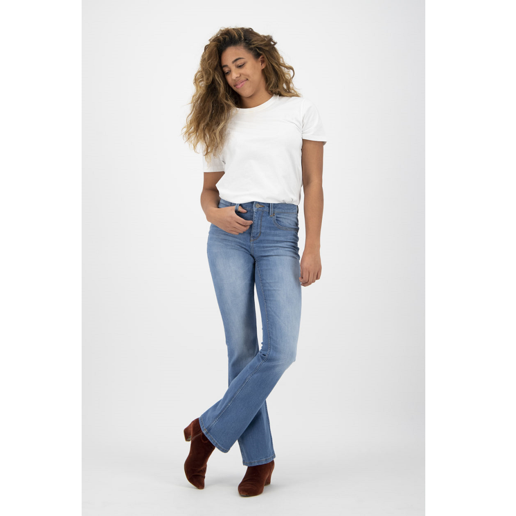 KUYICHI | Jean Amy -  Bootcut - Vintage Light