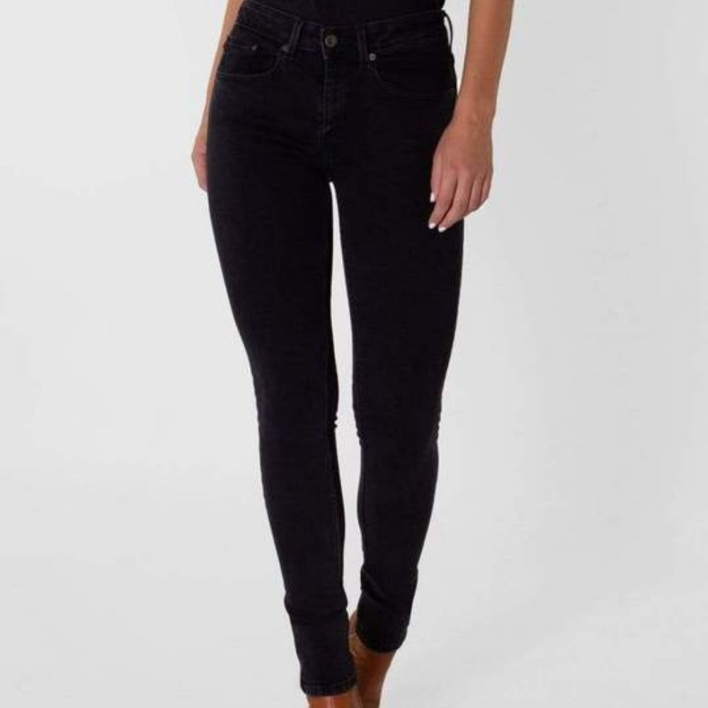 KUYICHI | Jean Super Skinny High Waist Carey - Black Again