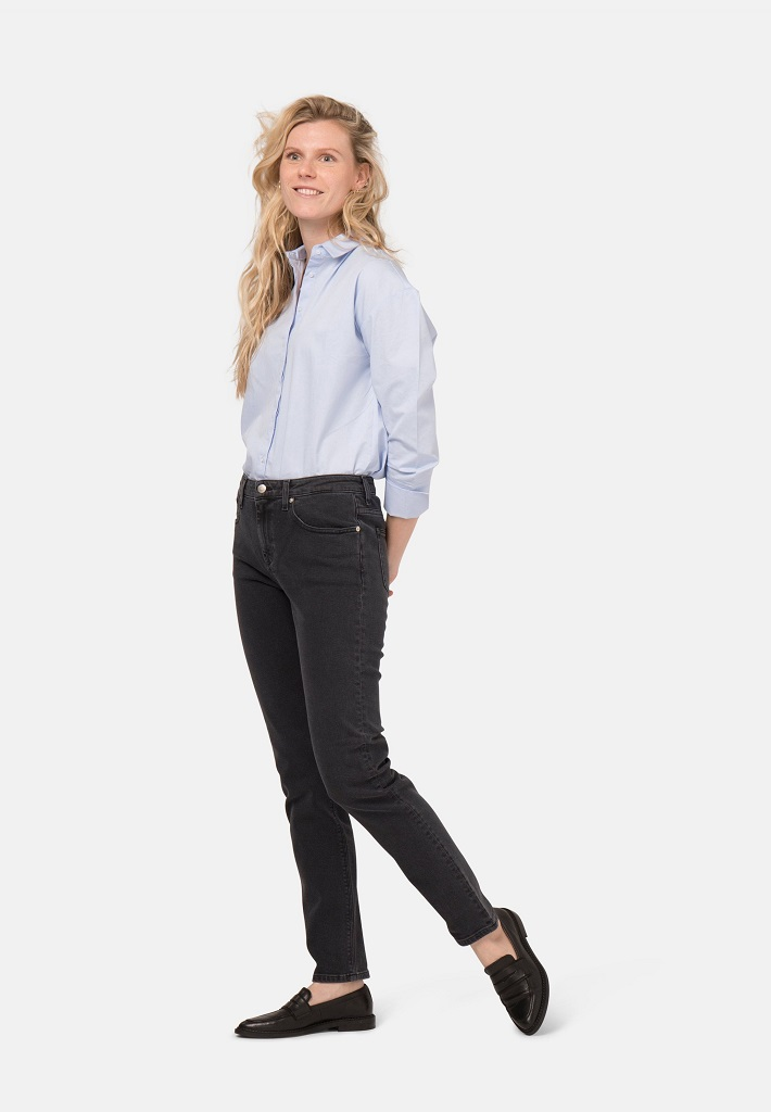 Mud Jeans | Stretch Mimi Jeans - Stone Black