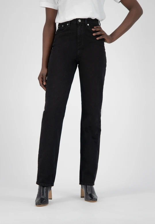Mud Jeans | Relax Rose Jeans - Dip Black